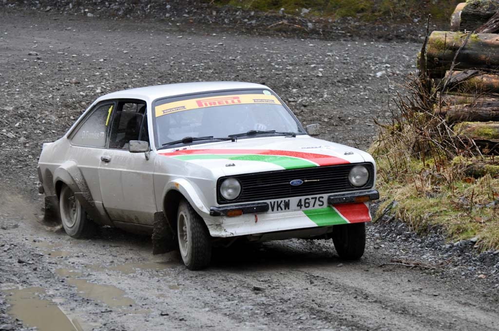 Osian makes impressive historic rally debut in Escort Mk2 – Osian ...