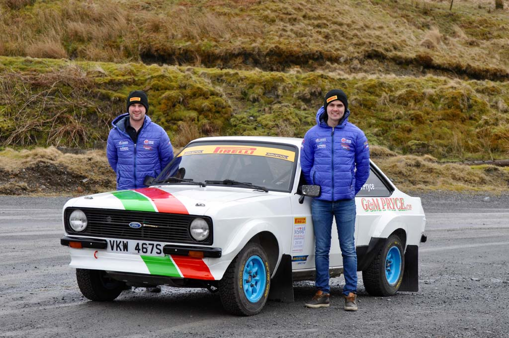 Osian gets first taste of historic rallying at Sweet Lamb test ...